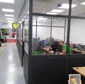 Cerramientos internos para oficinas individuales